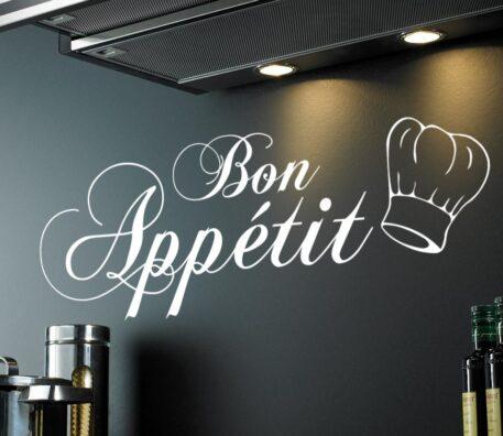 BON APPETIT (WITH CHEF HAT)