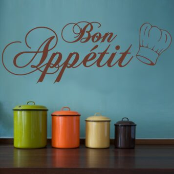 BON APPETIT (WITH CHEF HAT)