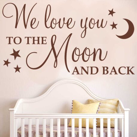 We love you to the moon and back
