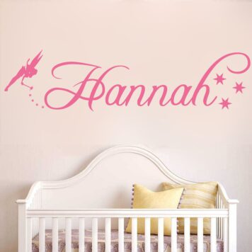 Personalised tinkerbell name with stars