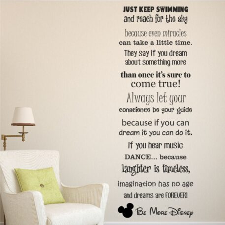 Be more disney (sayings & quotes)