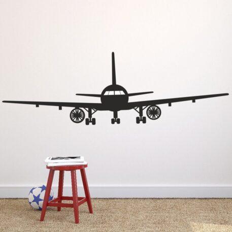 Airplane wall sticker