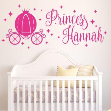 DISNEY Princess carriage with name